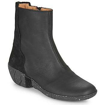 Schuhe Damen Klassische Stiefel El Naturalista SOFT Schwarz