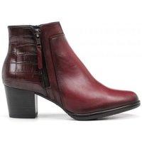 Schuhe Damen Boots Dorking 24 Hrs mod.8657 Rot