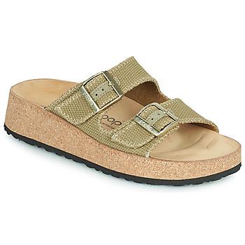 Schuhe Damen Pantoffel Papillio GABRIELA Kaki