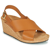 Schuhe Damen Sandalen / Sandaletten Papillio SAMIRA RING BUCKLE Braun