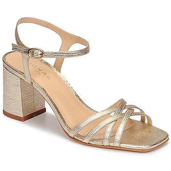 Schuhe Damen Sandalen / Sandaletten Jonak VICTORINE Gold