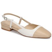 Schuhe Damen Sandalen / Sandaletten Jonak DHAPOU Beige / Weiss