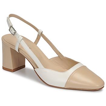 Schuhe Damen Pumps Jonak DHAPOP Beige / Weiss