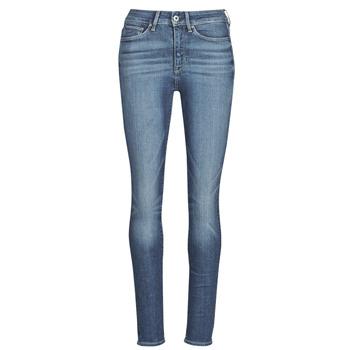 Kleidung Damen Röhrenjeans G-Star Raw 3301 Ultra High Super Skinny Wmn Blau