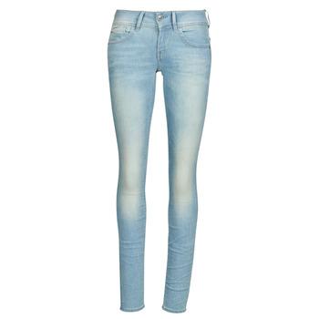 Kleidung Damen Röhrenjeans G-Star Raw Lynn Mid Skinny Wmn Blau