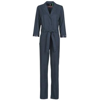 Kleidung Damen Overalls / Latzhosen G-Star Raw Workwear pj jumpsuit 34 slv wmn Blau