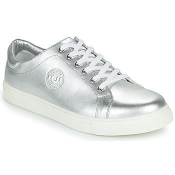 Schuhe Damen Sneaker Low Pataugas TWIST/N F2F Silbern