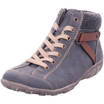 Schuhe Damen Stiefel Rieker - L6527-14 jeans/brandy/anthrazit 14