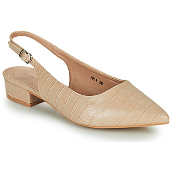 Schuhe Damen Pumps Moony Mood OGORGEOUS Beige