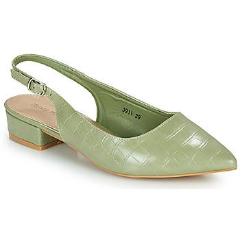 Schuhe Damen Pumps Moony Mood OGORGEOUS Grün / Mandel