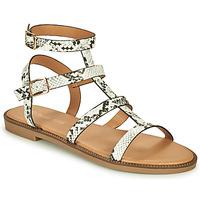 Schuhe Damen Sandalen / Sandaletten Moony Mood ONIRIK Schwarz