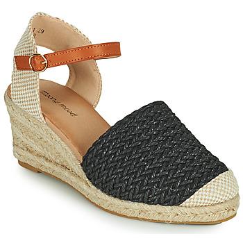 Schuhe Damen Sandalen / Sandaletten Moony Mood OCUTE Schwarz
