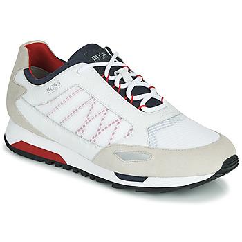 Schuhe Herren Sneaker Low BOSS PARKOUR RUNN NET2 Weiss