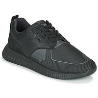 Schuhe Herren Sneaker Low BOSS TITANIUM RUNN TBJQ Schwarz