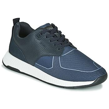 Schuhe Herren Sneaker Low BOSS TITANIUM RUNN TBJQ Blau