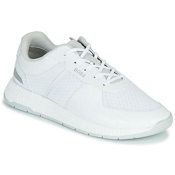 Schuhe Herren Sneaker Low BOSS TITANIUM RUNN MEMLLG Weiss