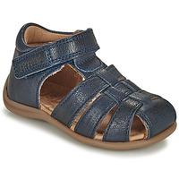 Schuhe Kinder Sandalen / Sandaletten Bisgaard CARLY Marine