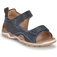 Schuhe Jungen Sportliche Sandalen Bisgaard CASPAR Marine