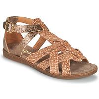 Schuhe Mädchen Sandalen / Sandaletten Bisgaard CELINE Gold