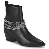 Schuhe Damen Klassische Stiefel Bronx JUKESON Schwarz