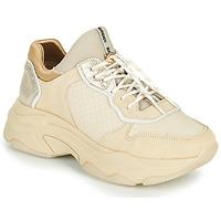 Schuhe Damen Sneaker Low Bronx BAISLEY Beige