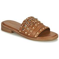Schuhe Damen Sandalen / Sandaletten Bronx THRILL Braun / Gold