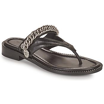 Schuhe Damen Sandalen / Sandaletten Bronx NEW THRILL Schwarz