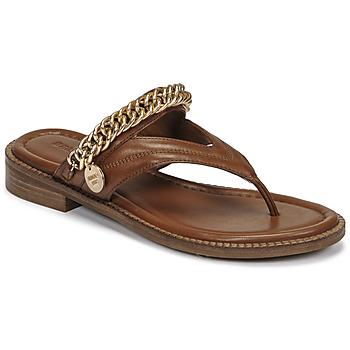 Schuhe Damen Sandalen / Sandaletten Bronx NEW THRILL Braun / Gold