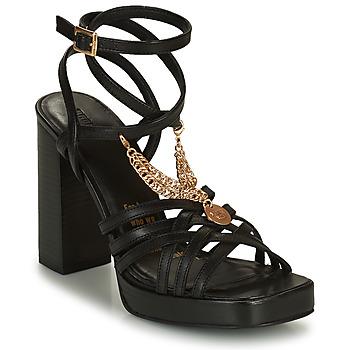 Schuhe Damen Sandalen / Sandaletten Bronx NEW RENEE Schwarz