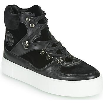 Schuhe Damen Boots Pataugas WISH/VE F4D Schwarz