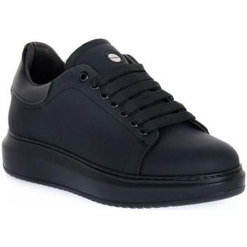 Schuhe Herren Sneaker Low Exton GOMMA NERO Nero