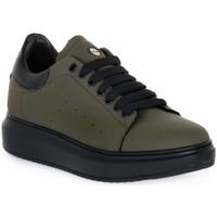 Schuhe Herren Sneaker Low Exton GOMMA MILITARE Verde