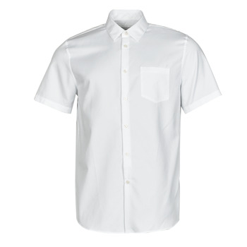 Kleidung Herren Kurzärmelige Hemden Lacoste FOLLA Weiss