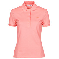 Kleidung Damen Polohemden Lacoste POLO SLIM FIT Rose