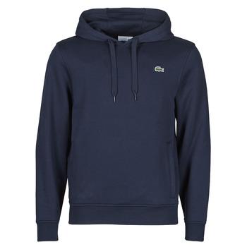 Kleidung Herren Sweatshirts Lacoste TOTTA Marine