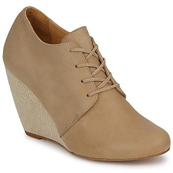 Schuhe Damen Ankle Boots D.Co Copenhagen EMILY Creme