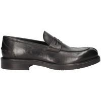 Schuhe Herren Slipper Arcuri 8514-6 Bummler Mann Schwarz Schwarz