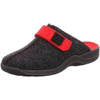 Schuhe Damen Hausschuhe Beck Hausschuh 7014/36 grau