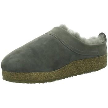 Schuhe Damen Hausschuhe Haflinger Snowbird,anthrazit 713015 grau