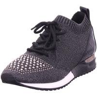 Schuhe Damen Sneaker Low La Strada - 1904952-4501 knitted black metallic