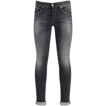 Kleidung Herren Slim Fit Jeans Dondup Jeans Ritchie in Baumwolle Grau verwaschen Schwarz