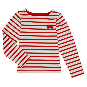 Kleidung Mädchen Langarmshirts Petit Bateau MAHALIA Multicolor
