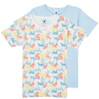 Kleidung Jungen T-Shirts Petit Bateau MANUR Multicolor