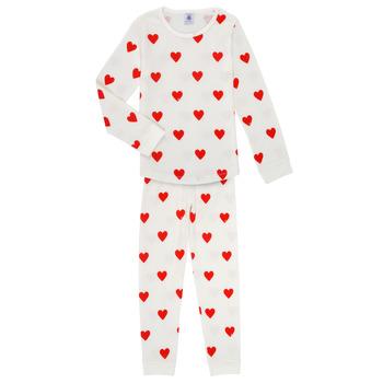 Kleidung Mädchen Pyjamas/ Nachthemden Petit Bateau MISON Multicolor