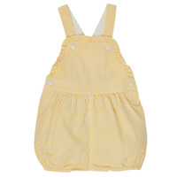 Kleidung Mädchen Overalls / Latzhosen Petit Bateau MERINE Gelb
