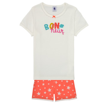 Kleidung Mädchen Pyjamas/ Nachthemden Petit Bateau MARSHA Multicolor