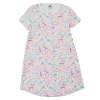 Kleidung Mädchen Pyjamas/ Nachthemden Petit Bateau MARTINE Multicolor