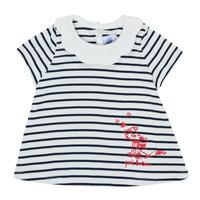 Kleidung Mädchen T-Shirts Petit Bateau MELIANE Multicolor