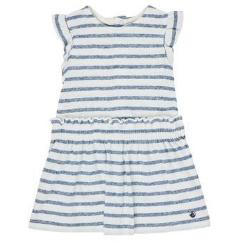 Kleidung Mädchen Kurze Kleider Petit Bateau MILANAIS Multicolor