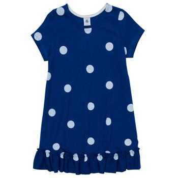 Kleidung Mädchen Kurze Kleider Petit Bateau MALICETTE Marine